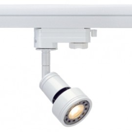SLV 153571 Puri Spot Set LED 6W 3000K White Eutrac 3 Circuit 240V Track Light