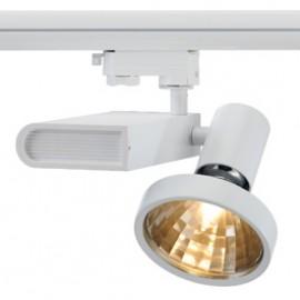 SLV 153651 Sleek Spot G12 70W 24 Degree White Eutrac 3 Circuit 240V Track Light