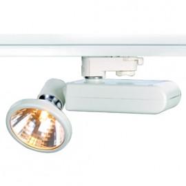 SLV 153711 D-Rection 35W GU6.5 White Eutrac 3 Circuit 240V Track Light