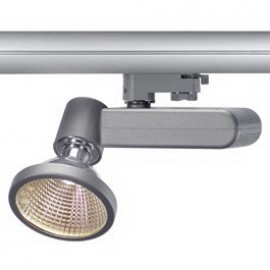 SLV 153734 D-Rection 70W G12 Silver Grey Eutrac 3 Circuit 240V Track Light