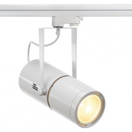 SLV 153841 Euro Spot Electronic Ballast 50W 60 Degree White Eutrac 3 Circuit 240V Track Light