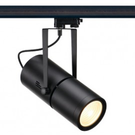 SLV 153830 Euro Spot Electronic Ballast 50W 15 Degree Black Eutrac 3 Circuit 240V Track Light