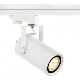 SLV 153901 Euro Spot Integrated LED 13W 2700K 15 Degree White Eutrac 3 Circuit 240V Track Light