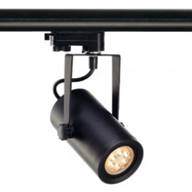 SLV 153910 Euro Spot Integrated LED 13W 2700K 24 Degree Black Eutrac 3 Circuit 240V Track Light