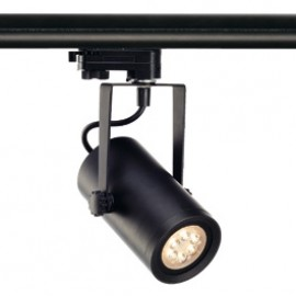 SLV 153930 Euro Spot Integrated LED 13W 3000K 15 Degree Black Eutrac 3 Circuit 240V Track Light
