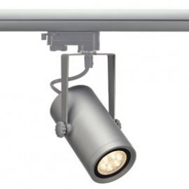 SLV 153944 Euro Spot Integrated LED 13W 3000K 24 Degree Silver Grey Eutrac 3 Circuit 240V Track Light