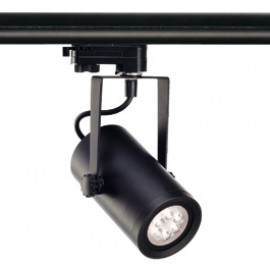 SLV 153960 Euro Spot Integrated LED 13W 4000K 15 Degree Black Eutrac 3 Circuit 240V Track Light