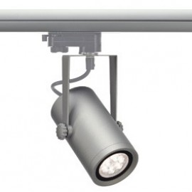 SLV 153964 Euro Spot Integrated LED 13W 4000K 15 Degree Silver Grey Eutrac 3 Circuit 240V Track Light