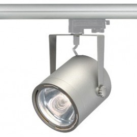 SLV 153994 Euro Spot LED Disk 800 11W 4000K Silver Grey Eutrac 3 Circuit 240V Track Light