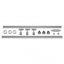 SLV 143194 1 Circuit Track Set LED 3x4.3W 3000K Silver Grey