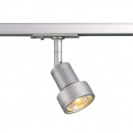 SLV 143392 Puri 50W Silver Grey 1 Circuit 240V Track Light
