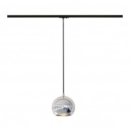 SLV 143620 Light Eye Pendant 75W Chrome 1 Circuit 240V Track Light