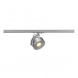 SLV 143734 Kalu Track LEDDisk 12W 3000K Silver Grey 1 Circuit 240V Track Light