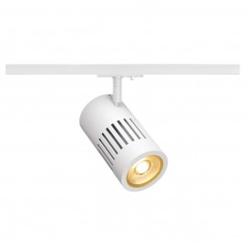 SLV 144101 STRUCTEC LED 24W, round, white, 3000K, 36°, incl. 1-phase adapter