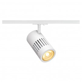 SLV 144111 STRUCTEC LED 24W, round, white, 3000K, 60°, incl. 1-phase adapter