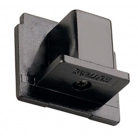 SLV 145590 End Cap Black Eutrac 3 Circuit 240V Surface Track Accessory
