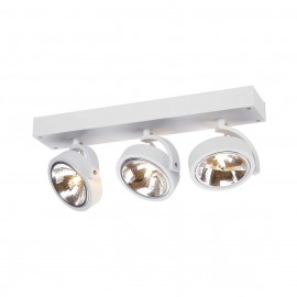 SLV 147271 Kalu 3 3x50W White Ceiling & Wall Light