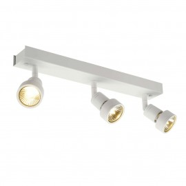 SLV 147381 Puri 3 3x50W White Ceiling & Wall Light