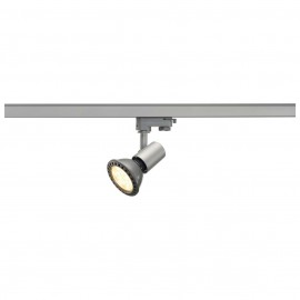 SLV 152204 E27 Spot 75W Silver Grey Eutrac 3 Circuit 240V Track Light