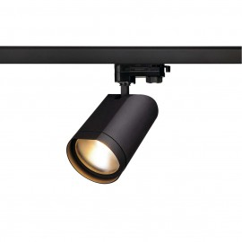 SLV 152990 Bilas Spot 25 LED 15W 2700K Eutrac 3 Circuit Track Light Matt Black DIMMABLE