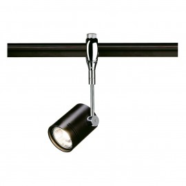 SLV 185450 Bima 1 50W Chrome & Black Easytec II 240V Track Light
