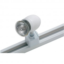 Oaks Lighting TR 3001 WHITE 50W BULLET FOR TRACK