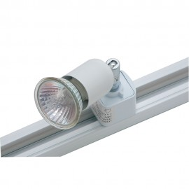 Oaks Lighting TR 4001 WHITE 50W GU10 FOR TRACK