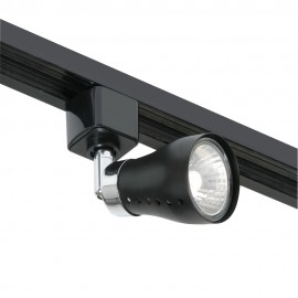 Oaks Lighting TR 7101 BLACK MILO 50W GZ10 FOR TRACK