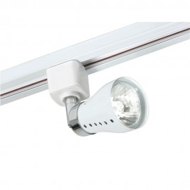 Oaks Lighting TR 7101 WHITE MILO 50W GZ10 FOR TRACK