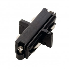 Straight Coupler Black 1 Circuit 240V Track Accessory