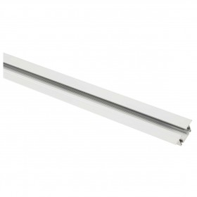 Track 2m White 1 Circuit 240V Recessed Track Light System