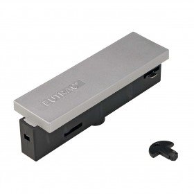 Middle Feed In Silver Grey Eutrac 3 Circuit 240V Surface Track Accessory